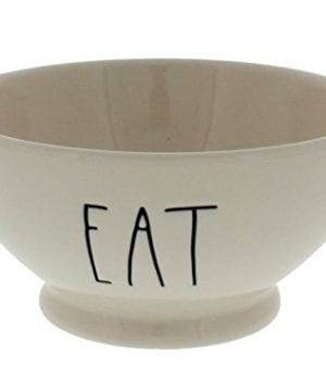 Rae Dunn By Magenta EAT Ice Cream Cereal Bowl 0 300x360