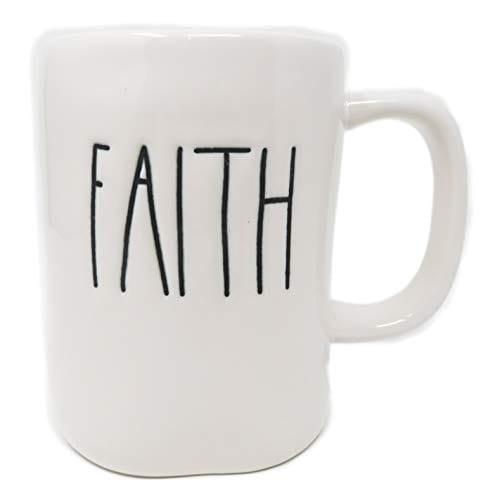 Rae Dunn By Magenta FAITH Ceramic LL Coffee Mug 0 0