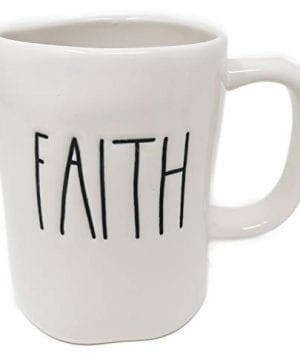 Rae Dunn By Magenta FAITH Ceramic LL Coffee Mug 0 300x360