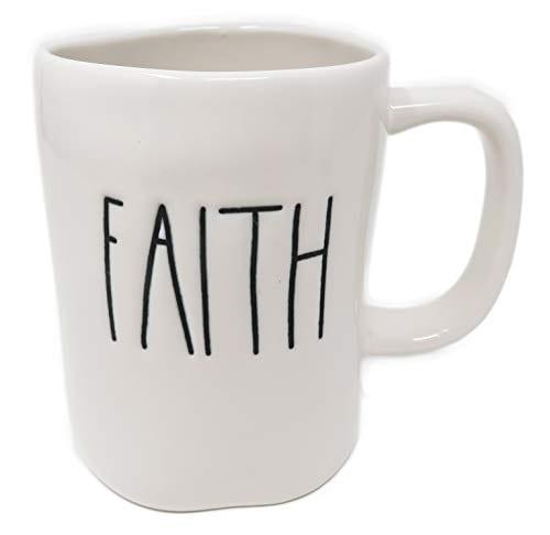 Rae Dunn By Magenta FAITH Ceramic LL Coffee Mug 0
