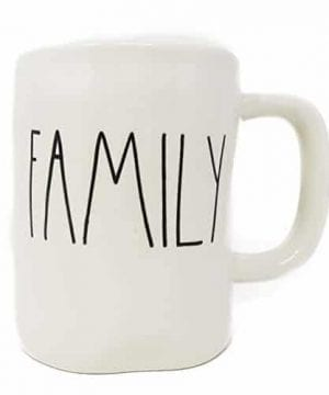Rae Dunn By Magenta FAMILY Ceramic LL Coffee Mug 0 300x360
