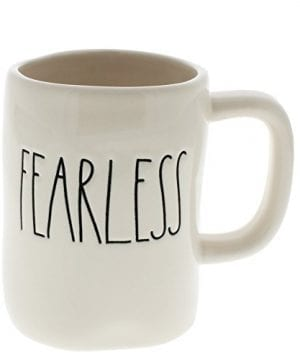 Rae Dunn By Magenta FEARLESS Ceramic LL Coffee Mug 0 300x360