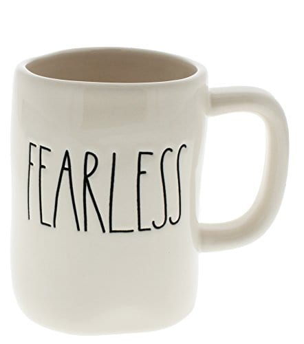 401a8953dda Rae Dunn by Magenta FEARLESS Ceramic LL Coffee Mug