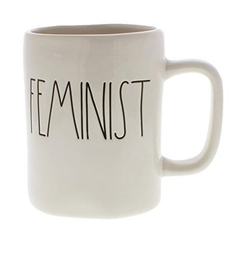 Rae Dunn By Magenta FEMINIST Ceramic LL Coffee Mug 0