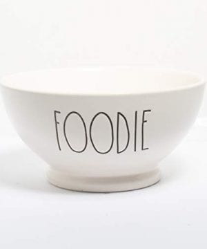 Rae Dunn By Magenta FOODIE Ice Cream Cereal Bowl 0 300x360