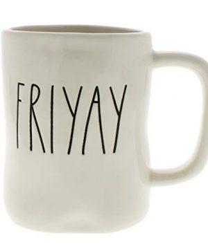 Rae Dunn By Magenta FRIYAY Ceramic LL Coffee Mug 0 300x360