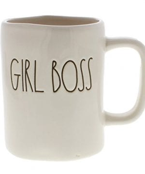 Rae Dunn By Magenta GIRL BOSS Ceramic LL Coffee Mug 0 300x360