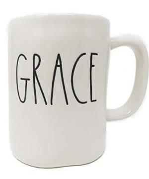 Rae Dunn By Magenta GRACE Ceramic LL Coffee Mug 0 0 300x360