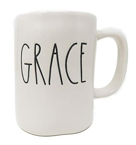 Rae Dunn By Magenta GRACE Ceramic LL Coffee Mug 0 0
