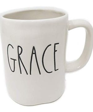 Rae Dunn By Magenta GRACE Ceramic LL Coffee Mug 0 300x360