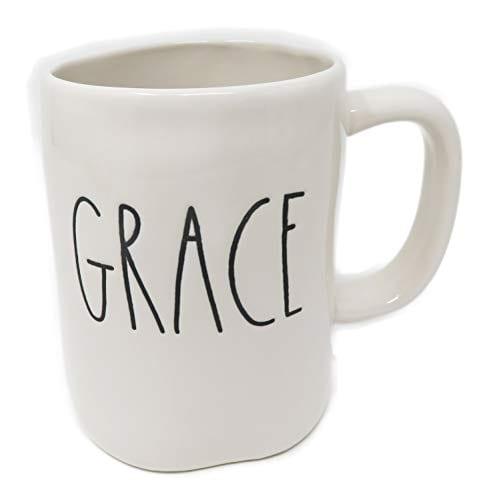 Rae Dunn By Magenta GRACE Ceramic LL Coffee Mug 0