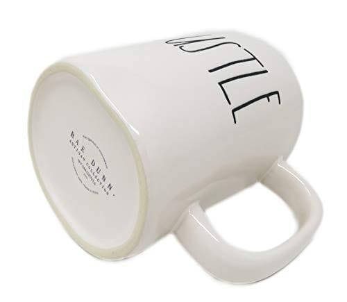 Rae Dunn By Magenta HUSTLE Ceramic Coffee Mug 0 1