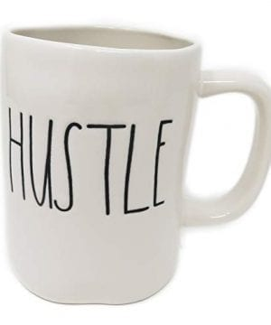 Rae Dunn By Magenta HUSTLE Ceramic Coffee Mug 0 300x360