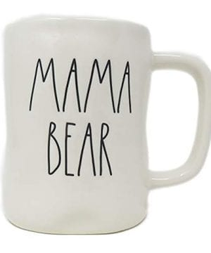Rae Dunn By Magenta MAMA BEAR Ceramic LL Coffee Mug 0 300x360