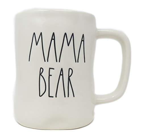 Rae Dunn By Magenta MAMA BEAR Ceramic LL Coffee Mug 0