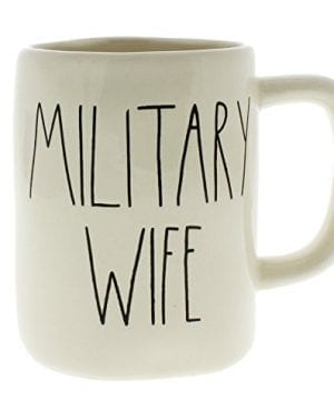 Rae Dunn By Magenta MILITARY WIFE Ceramic LL Coffee Mug 0 300x360