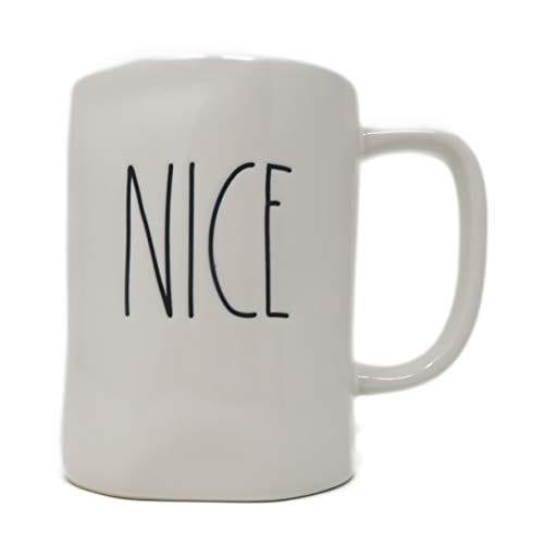 Rae Dunn By Magenta NICE Ceramic LL Coffee Mug 0 0