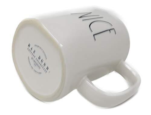 Rae Dunn By Magenta NICE Ceramic LL Coffee Mug 0 1