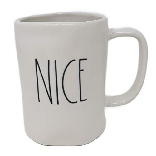 Rae Dunn By Magenta NICE Ceramic LL Coffee Mug 0