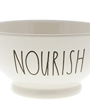Rae Dunn By Magenta NOURISH Ice Cream Cereal LL Bowl 0 300x354