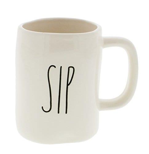 Rae Dunn By Magenta SIP Ceramic LL Coffee Mug 0