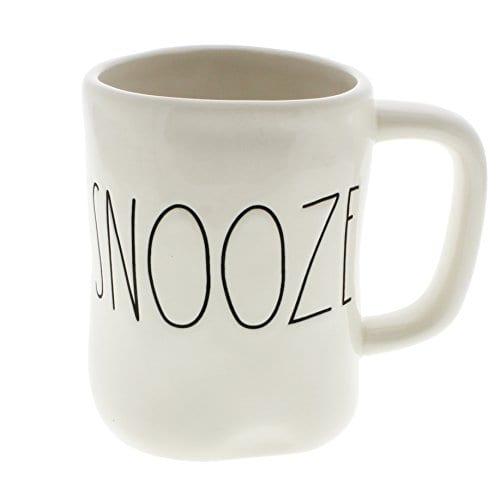 Rae Dunn By Magenta SNOOZE Ceramic LL Coffee Mug 0