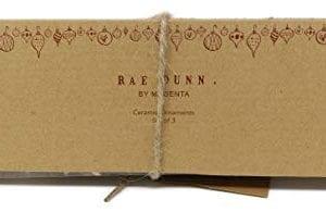 Rae Dunn By Magenta Set Of MR MRS 2018 Ceramic LL Round Bulb Christmas Tree Ornaments 0 0 300x195