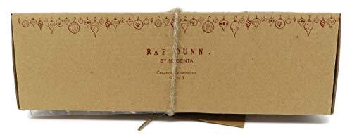 Rae Dunn By Magenta Set Of MR MRS 2018 Ceramic LL Round Bulb Christmas Tree Ornaments 0 0