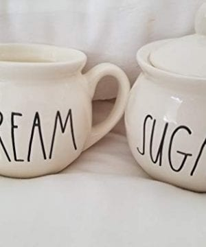 Rae Dunn By Magenta Sugar And Cream Set Of 2 0 300x360
