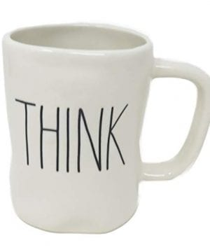 Rae Dunn By Magenta THINK Ceramic Coffee Mug 0 300x360