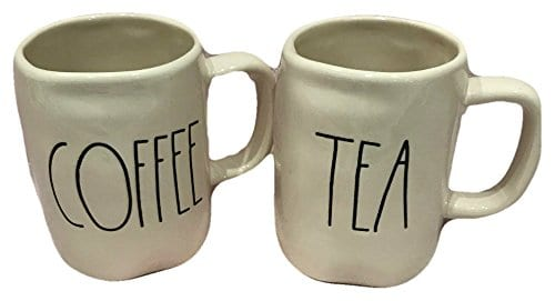 Rae Dunn By Magenta Tea And Coffee Mugs Set Of 2 0