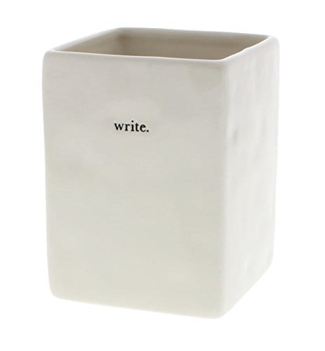 Rae Dunn By Magenta Typewriter Lower Case Write Pen And Pencil Holder 0