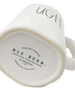 Rae Dunn By Magenta UGH Ceramic Coffee Mug 0 1 300x360