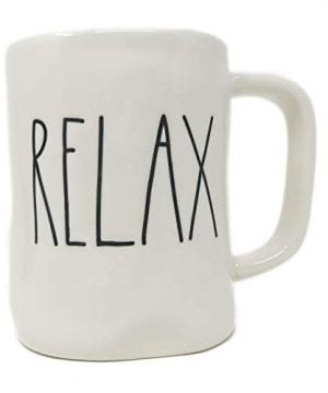 Rae DunnMagenta Relax Mug In Large Letters 0 0 300x360