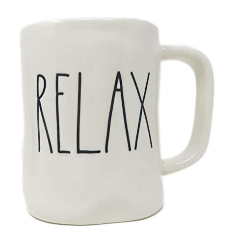 Rae DunnMagenta Relax Mug In Large Letters 0 0