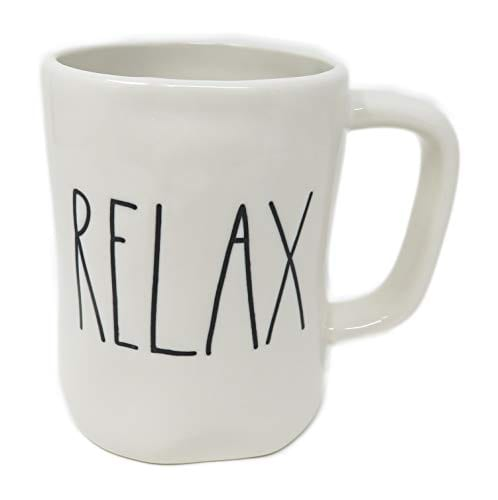 Rae DunnMagenta Relax Mug In Large Letters 0