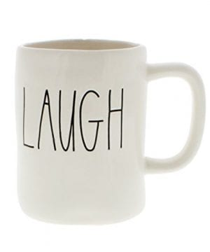 Rae DunnMagenta With LAUGH Etched In Large Black Letters 0 300x360