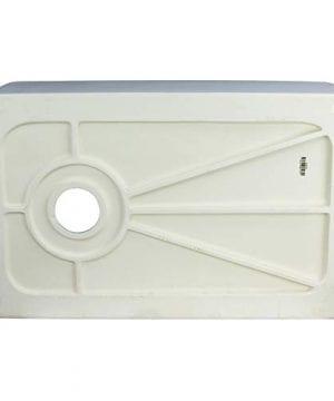 Transolid FUSS301810 Porter Fireclay Undermount Reversible Plain Super Single Bowl Farmhouse Kitchen Sink 30 L X 18 W X 10 H White 0 3 300x360