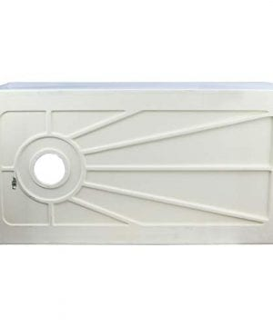 Transolid FUSS361810 Porter Fireclay Farmhouse Kitchen Sink 36 In L X 18 In W X 10 In H White 0 4 300x360