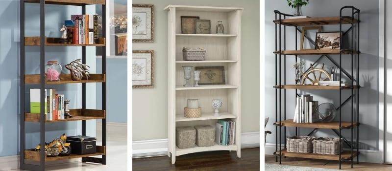 farmhouse bookcases