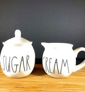 Rae Dunn Cream And Sugar Sets