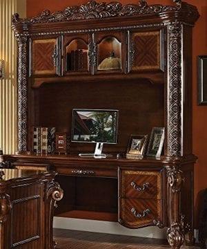 ACME Vendome Cherry Desk With Hutch 0 300x360