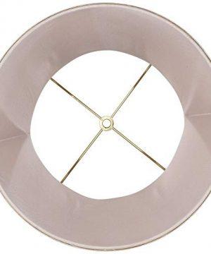 Almond Linen With Flower Drum Shade 11x12x11 Spider Springcrest 0 2 300x360