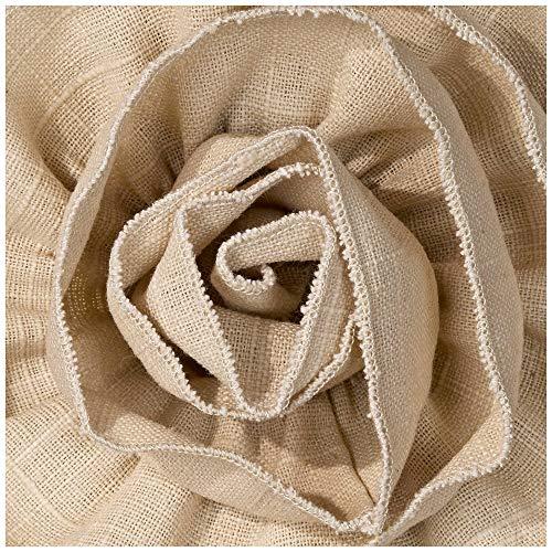Almond Linen With Flower Drum Shade 11x12x11 Spider Springcrest 0 3