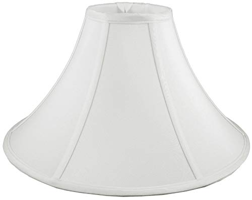 American Pride 65x 13x 8 Round Soft Shantung Tailored Lampshade Off White 0
