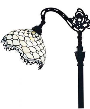 Amora Lighting AM122FL12 Jeweled Reading Floor Lamp 12W X 62H 0 0 300x360