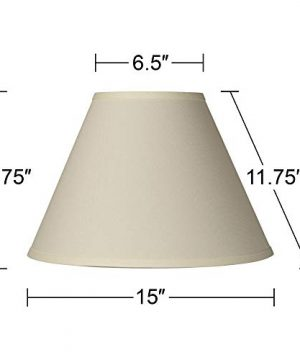 Antique White Linen Empire Lamp Shade 65x15x1075 Spider Brentwood 0 3 300x360