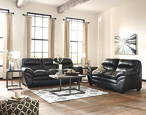 Ashley Furniture Signature Design Airdon Contemporary 3 Piece Table Set Includes Coffee Table 2 End Tables Bronze Finish 0 0