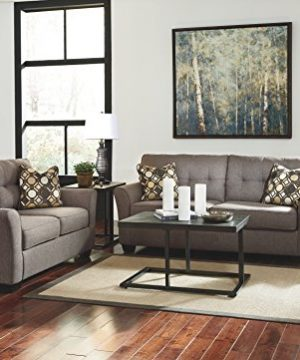 Ashley Furniture Signature Design Airdon Contemporary 3 Piece Table Set Includes Coffee Table 2 End Tables Bronze Finish 0 1 300x360