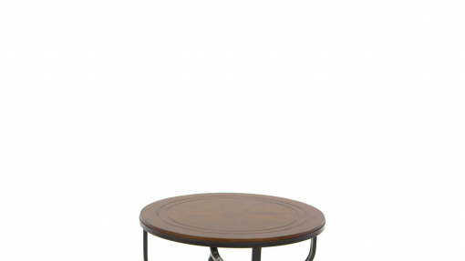 Ashley Furniture Signature Design Ferlin Circular Occasional Table Set Contains Cocktail Table 2 End Tables Contemporary Dark Brown 0 510x287